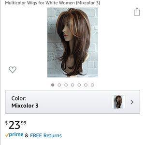 Beautiful ombré wig